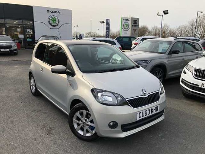 SKODA Citigo 1.0 MPI (75PS) Elegance Green Tech 3-Dr