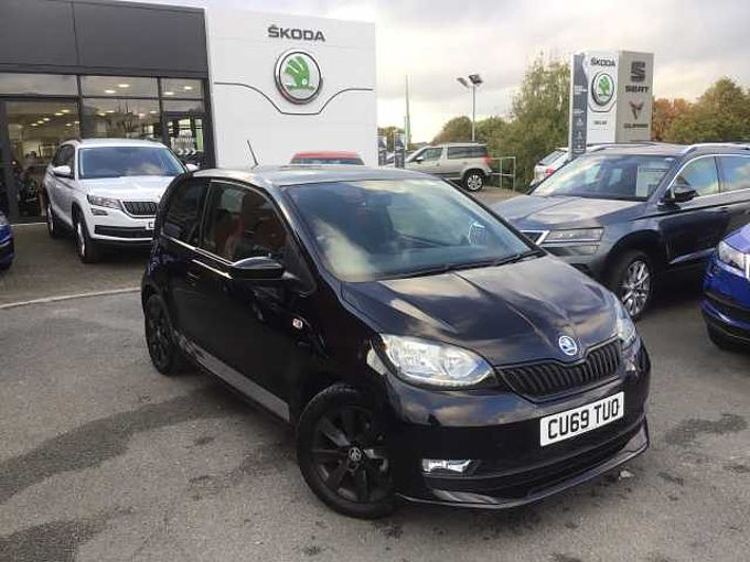 SKODA Citigo 1.0 (60ps) Monte Carlo Green Hatchback 3-Dr